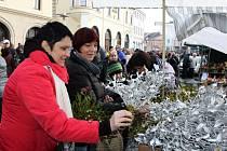 Vánoční jarmark v Uherském Hradišti.