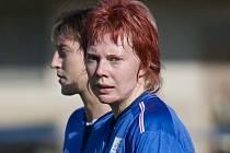 Zdeňka Skupinová se po dlouhé době vrátila do Slovácka a hned se uvedla vstřeleným gólem.