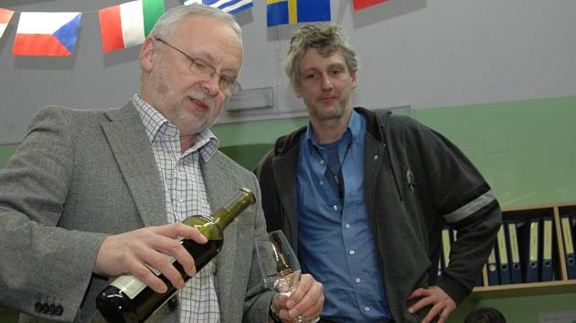 Květoslav Tichavský (vlevo)