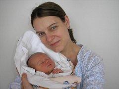 Eva Petřeková s dcerou Vanesou, 50cm, 3000g, nar. 4. 4. 2011
