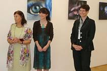Mimořádný umělecký zážitek nabídla na prahu Velikonoc v zámecké galerii v Uherském Ostrohu vernisáž obrazů a perokreseb sedmadvacetileté malířky a grafičky Veroniky Daňkové z Modré.