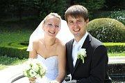 Soutěžní svatební pár číslo 161 - Veronika a Pavel Koneční, Rataje u Kroměříže