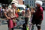 Milovníci proslulé jízdy na historických kolech si dali v sobotu už po 44. dostaveníčko na akci Giro de Pivko aneb cesta na kole proti konzumu a totalitě.