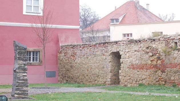 Městské hradby.