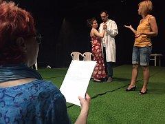 10 dnů před premiérou hry Autista - zkoušíme ve Slováckém divadle.