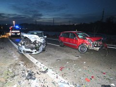 S námrazou se ve středu 27. ledna v půl osmé ráno potýkal řidič nákladního auta s návěsem.