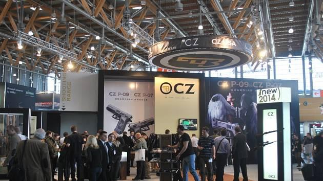 Česká zbrojovka a.s. na veletrhu IWA OutdoorClassics, který se konal ve dnech 7. až 10. března vněmeckém Norimberku.