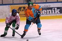 Aamatérská hokejová liga O pohár bobra. Ilustrační foto.