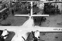 Montáž letounů L–410 M.