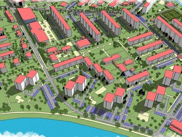 Územní studie nastiňuje, ve kterých částech Štěpnic by se mohla nová parkoviště v budoucnu nacházet.