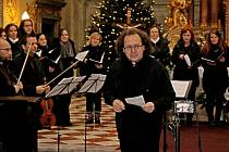 Smíšený pěvecký sbor Canticum Camerale ze Zlína koncertoval v hradišťském kostele sv. Františka xaverského.