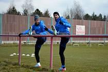 Fotbalisté Slovácka se ve čtvrtek dopoledne vrátili zpátky k tréninku.