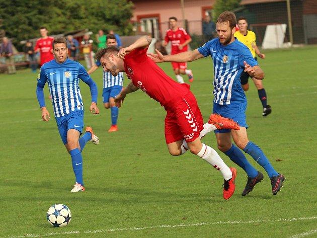 5. kolo MSFL: Uherský Brod - Prostějov 0:3 (0:2)