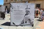 Národní cyrilometodějská pouť před velehradskou bazilikou 5. července 2020. Připomínka 30. výročí návštěvy papeže sv. Jana Pavla II.