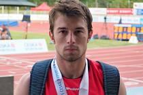 Sprinter Slovácké Slavie Uherské Hradiště vybojoval na MČR v Táboře bronz.