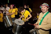 Bubenický soubor Bumbumband z Ostravy se v Hradišti zúčastnil dvou koncertů a výstav.