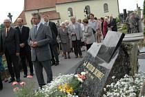 Hrob Rostislava Sochorce na staroměstském hřbitově.