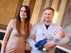 Starosta Uherského Hradiště přivítal na radnici prvního občana města v roce 2016.