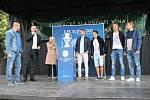 Vznik fanzóny na Masarykově náměstí byl jednou z pozvánek na blížící se víkendové Slavnosti vína.