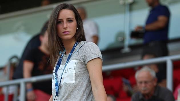 Půvabná  fotbalistka a moderátorka Kristýna Janků.