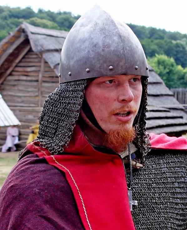 Jaroslav Křivánek je jednatelem zapsaného spolku Velkomoravané.