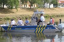 Policisté společně s hlídkou Státní plavební správy opět kontrolovali na Moravě v Uherském Hradišti vůdce plavidel na alkohol.