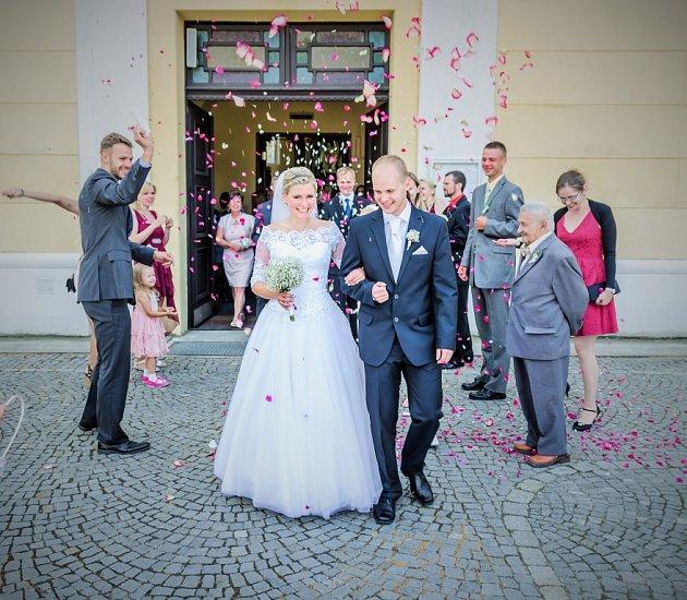Soutěžní svatební pár číslo 35 - Petra a Jan Kaislerovi, Suchá Loz