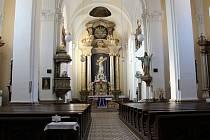Farní kostel v Uherském Brodě Neposkvrněného početí Panny Marie.