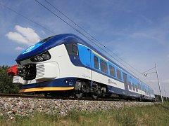 Moderní a pohodlné vlaky RegioShark přímo lákají ke svezení. Cestující na trase Uherské Hradiště-Zlín si ale na ně budou muset ještě nějaký čas počkat