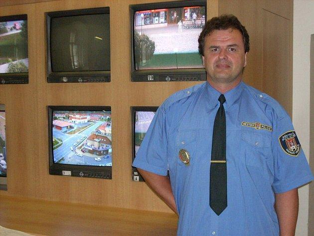 Zástupce velitele Městské policie Vlastimil Pauřík