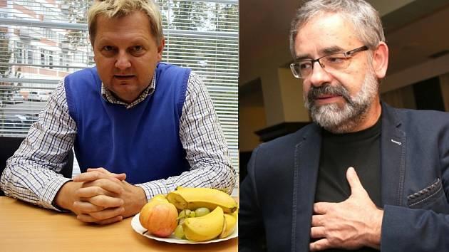 Zleva: Pavel Botek (KDU-ČSL), Jan Pijáček (ODS).