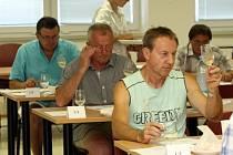 Hodnotící komise vín TOP Slovácka 2013.