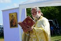 Na Výšině sv. Metoděje odsloužili pravoslavnou liturgii.