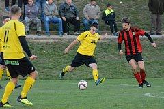 Fotbalisté Strání vyšli v divizi D bodově naprázdno, když na hřišti vedoucího Blanska prohráli 0:1