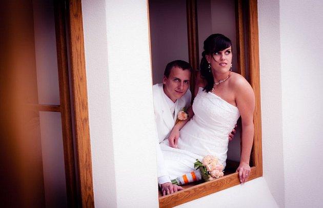 Svatební pár č. 112Martina a Martin Řehákovi, Návojná