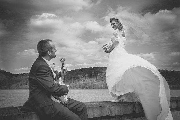 Soutěžní svatební pár číslo 62   – Jitka a Jan Sedlářovi, Slušovice