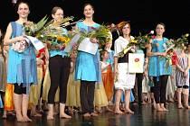 Oceněné absolventky tanečního oboru ZUŠ.