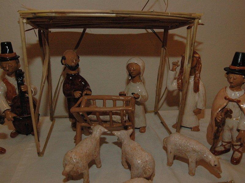 Výstava betlémů v Tupesích.