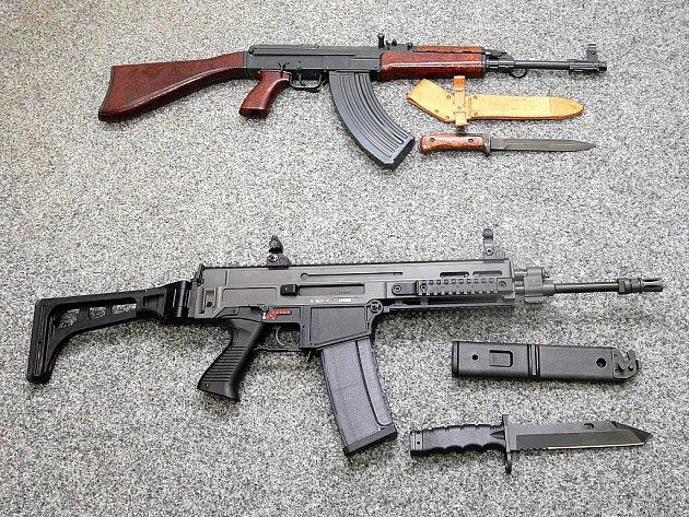 Útočná puška CZ 805 BREN. Ilustrační foto.