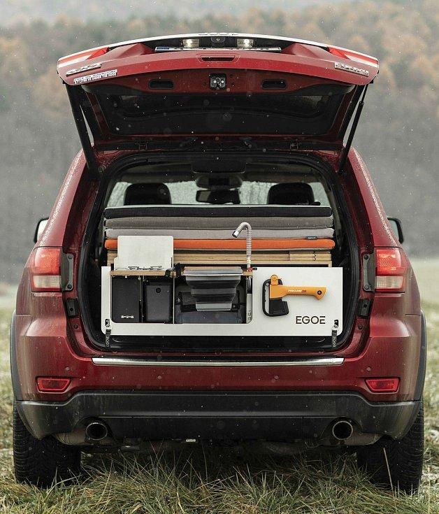 Ocenění Good design získala kempovací vestavba do aut Nestbox.