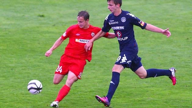 FC Zbrojovka Brno - 1. FC Slovácko. Ilustrační foto.