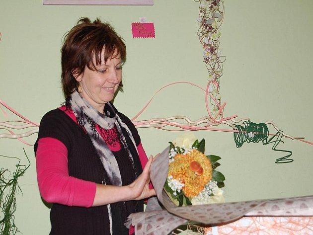 Majitelka květinářství Agáta Marie Hubíková.