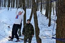 Dvoučlenné skautské hlídky si ve Chřibech změřily své síly, znalosti a dovednosti v několika disciplínách.