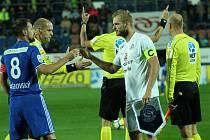 Kapitán fotbalistů Slovácka Vlastimil Daníček (vpravo) se zúčastnil srazu náhradní české reprezentace.