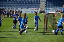 Fotbalové Slovácko ve čtvrtek 9. září pořádá otevřený trénink akademie.