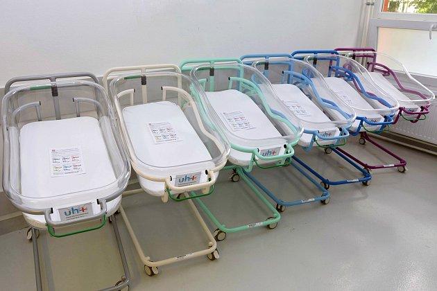 Uherskohradišťská nemocnice půjčuje novorozenecké postýlky.