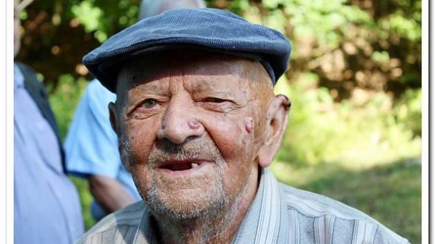 HRDINA. Bývalý partyzán, třiadevadesátiletý Ladislav Verner zLoun, přislíbil účast na akce Velehrad/Salaš 1945/2019, aby si zavzpomínal odboj vChřibech.