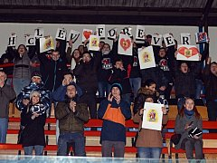 Straňanské fanoušky na svém webu veřejně ocenilo i vedení slovácké AHL.
