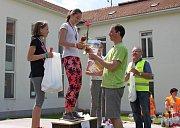 Velehradští zahrádkáři spolu sobcí a základní školou uspořádali vsobotu XIX. ročník přechodu a přejezdu Chřibů.