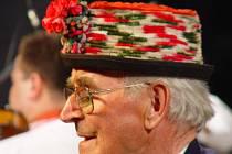 Nový čestný starosta Štěpánů Jaroslav Kovařík zpíval i na slavnostní besedě vloni v dubnu.